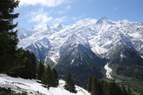 Mont-Blanc sous la neige