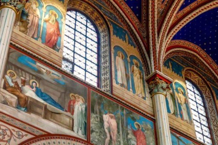 Plafond de l'église Saint-Germain-des-Prés
